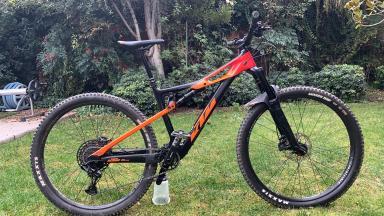 Bicicleta Enduro Ktm Prowler 2020