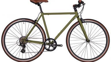 Bicicleta Urbana, Paseo O Fixie Fyxation Pixel 3 Speed (Olive Green)
